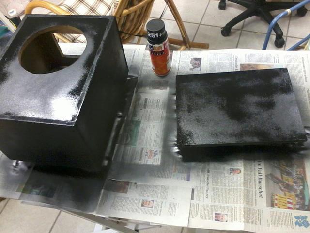 Box Mit LAck