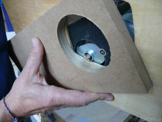 Mission Possible - Fräsen mit Schablone und dem Kopierring