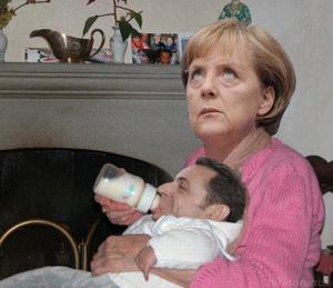 Merkel Sarkozy Baby1 1