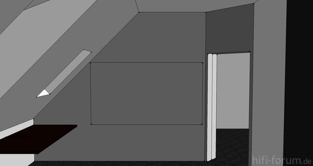 Design#5000854: Welche art farbe für leinwand-anstrich?, leinwände, beamerzubehör .... Grau Wei Mit Schrgen Streifen Wand