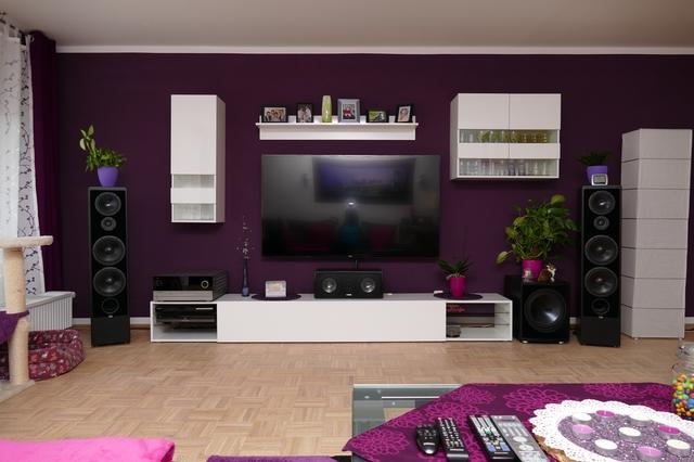 Wohnzimmer In Lila Ideen Srikats