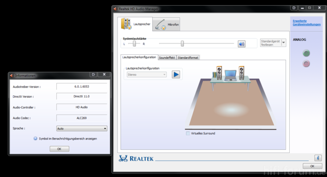 Realtek Audio HD