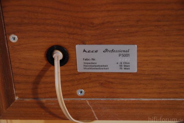 Heco Professional P5001