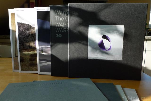 Warp 20 Box Set