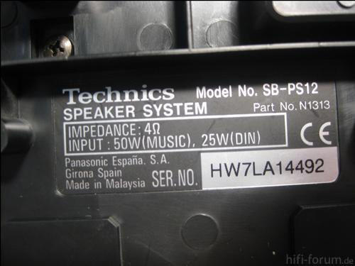 Technics Bild 1