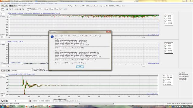 TestConvolution mit Target auf 0dB