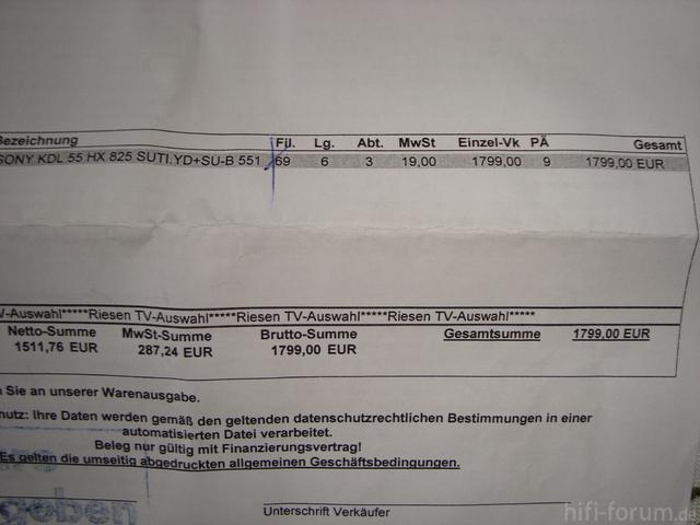 Hx 825 Preis