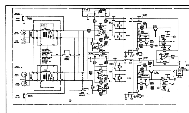 Dynacord PCA 2250 Schematic Part1A
