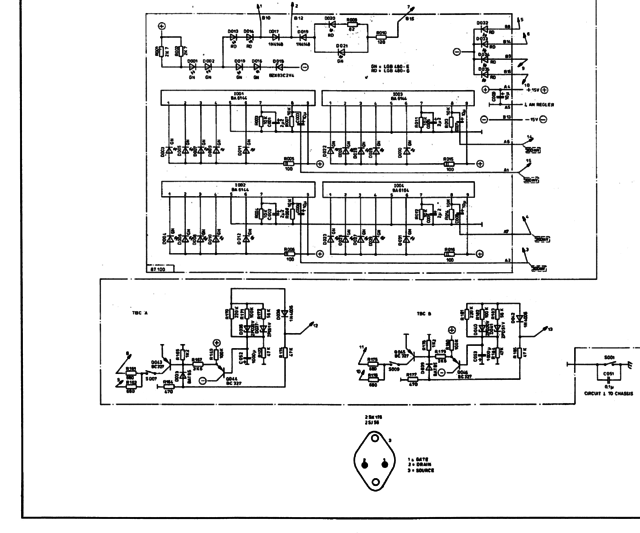 Dynacord PCA 2250 Schematic Part1B