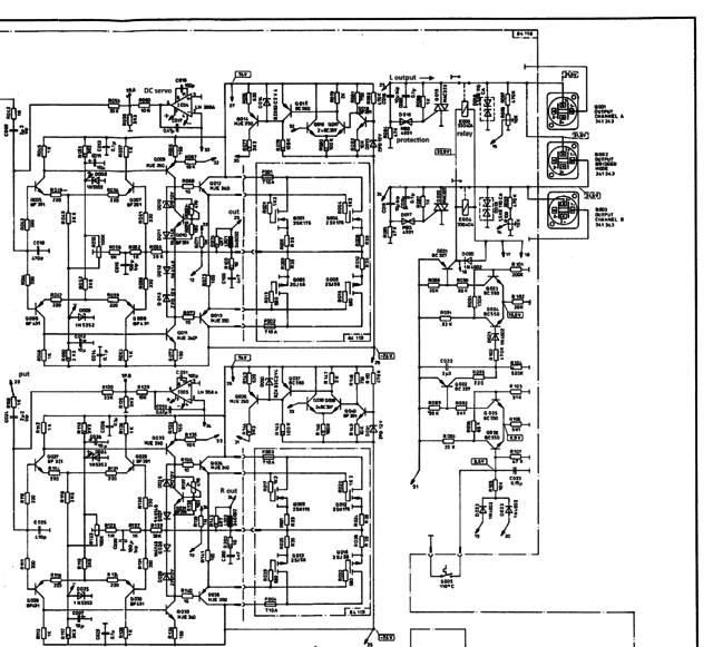 Dynacord PCA 2250 Schematic Part2A