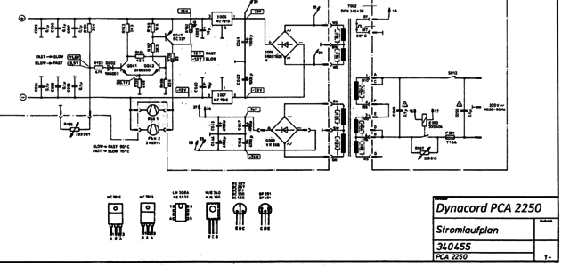 Dynacord PCA 2250 Schematic Part2B