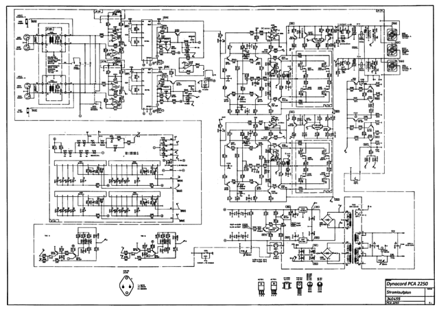 Dynacord PCA 2250 Schematic
