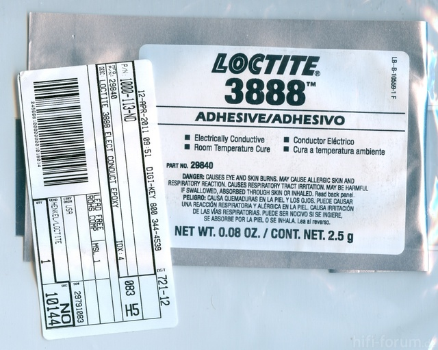 Electrically Conductive Adhesive - LOCTITE 3888