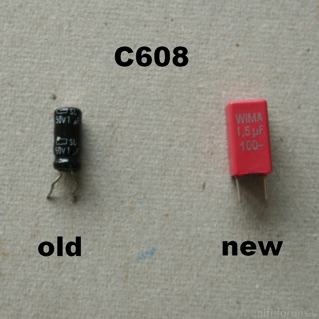 HCA 8300 Replacement Capacitor C608