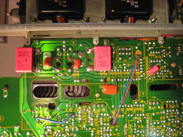 Hitachi HA 5700 Parallel Film Capacitors Example 2