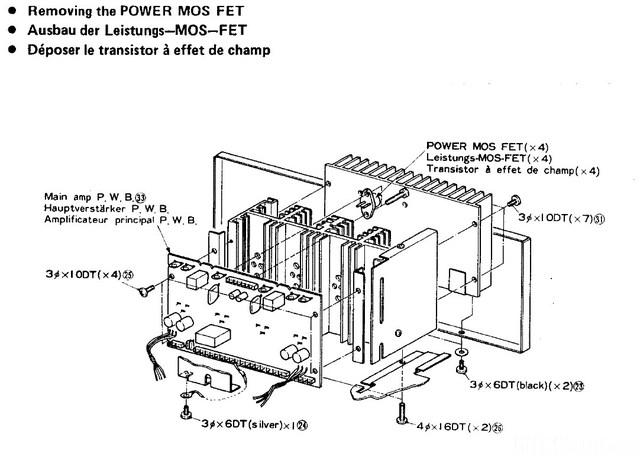 Hitachi HA 7700 Disassembly Figure 3