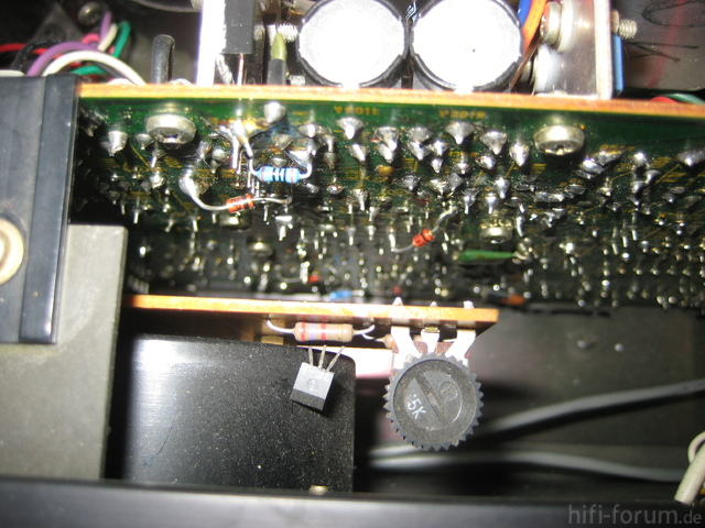 Hitachi HMA-8300 Power Amplifier Interior Detail