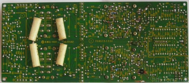 Hitachi HMA-8300 Power Amplifier Main Amp PCB Platine Lötseite