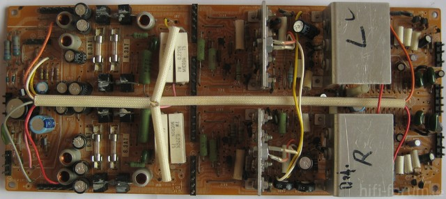 Hitachi HMA-8300 Power Amplifier Main Amp PCB Platine