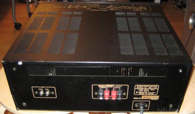 Hitachi HMA-8300 Power Amplifier Rear View