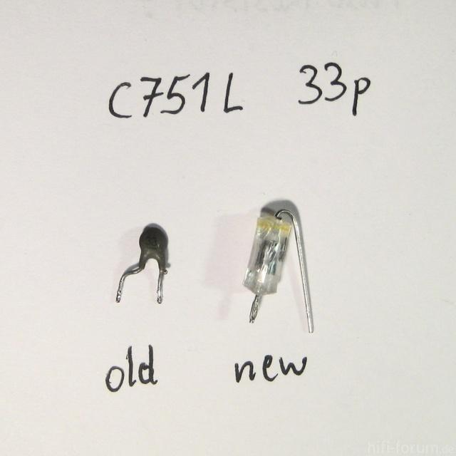 HMA 8300   Replacement C751R 751L