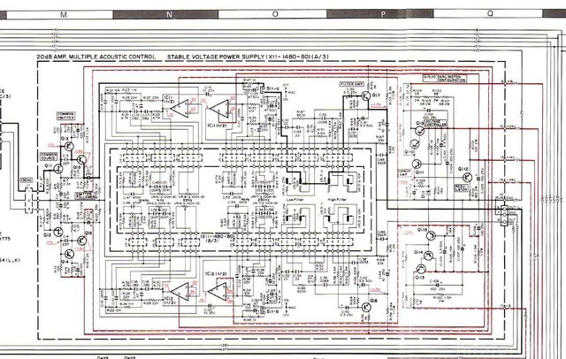 Kenwood Model Eleven G Kr11000g Schematic Multiple Acoustic Control MAC Equalizer
