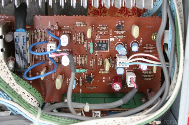 Luxman L 410 Phono PCB  Before Modification