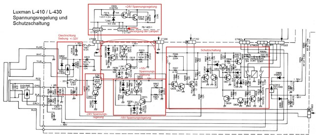 Luxman L 410 Schematic Power Supply Schematic Explained