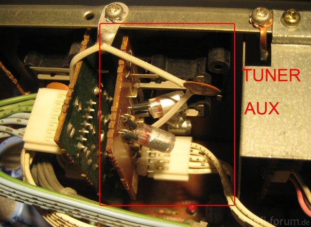 Luxman L 410 Tuner & Aux Input Capacitors Original 1000pF