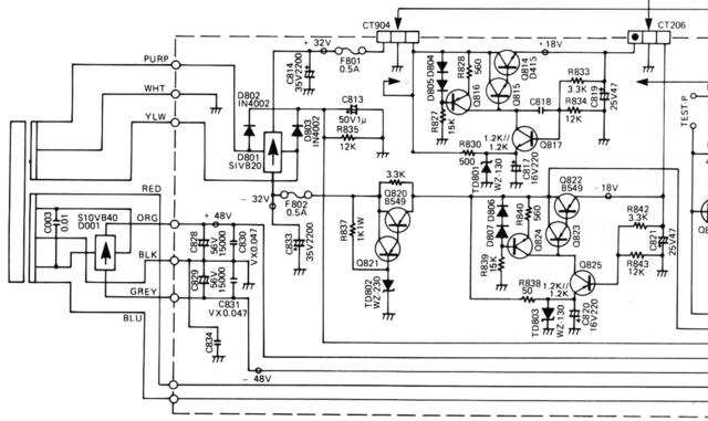 Luxman L410 Spannungsregelung