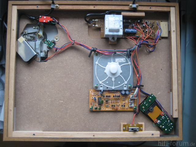 Luxman PD 284 Buttom Inside View