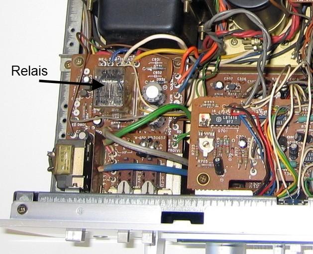 Onkyo A 7090 Innenansicht Inside Detail Relais