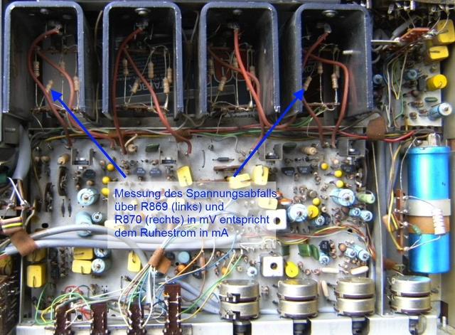 Philips 22rh591 Innenansichten 005 Ruhetrom Messung