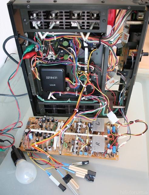Reparatur Des Hitachi HMA-8300 - Inbetriebnahme Des Rechten Kanals (1. Versuch)