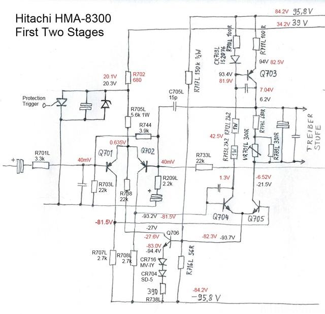 Reparatur Des Hitachi HMA-8300 - Inbetriebnahme Des Rechten Kanals (2. Versuch)