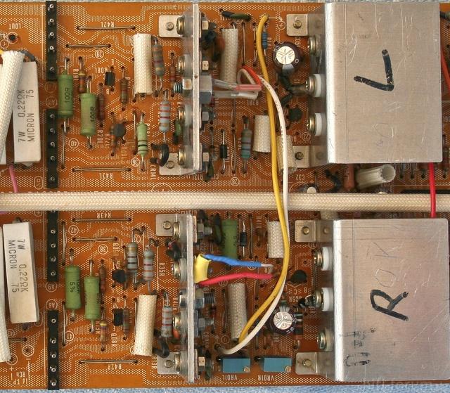 Reparatur Des Hitachi HMA-8300 - PCB 2nd & 3rd Stage - Solder Side - AFTER