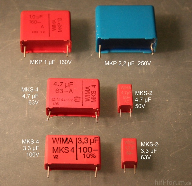 Some Capacitors To Replace Electrolytics