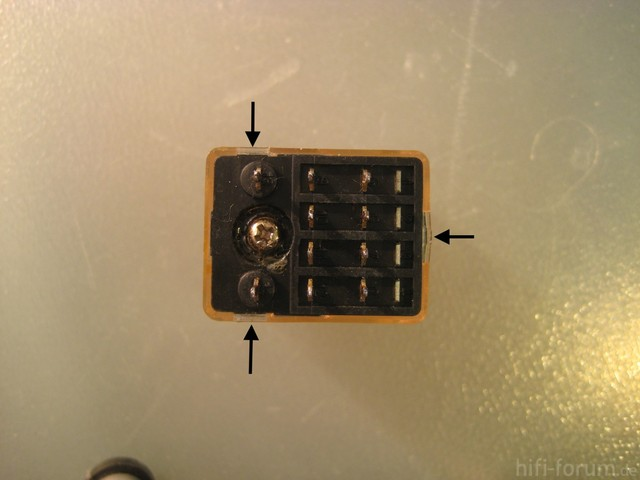 Speaker Protection Relay Relais Opening Latch