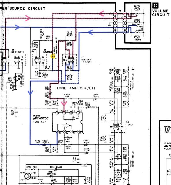 technics su v460 defekt elektronik stereo surround. Black Bedroom Furniture Sets. Home Design Ideas