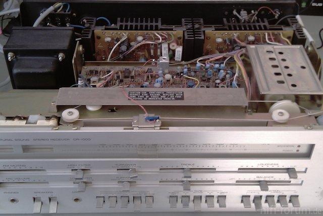 Yamaha CR 1000 Inside 1