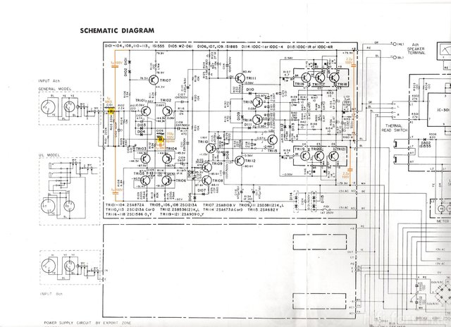 Yamaha P-2200 Schematic part1 Recap Recommendations