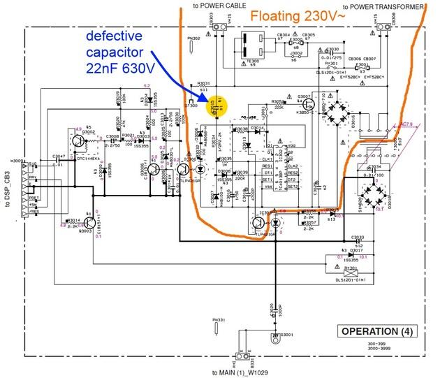 Yamaha RX-496 DRS schaltet nicht ein, Elektronik (Stereo&Surround ...