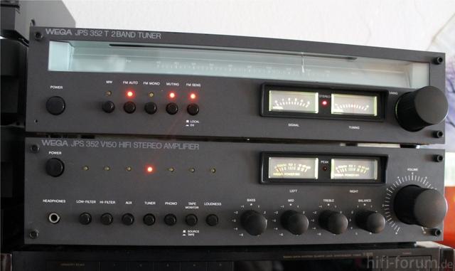 WEGA JPS 352 V150 Und JPS 352 T