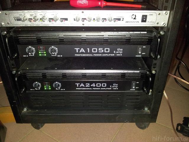 Amprack TA 1050 + TA 2400 + EC 102