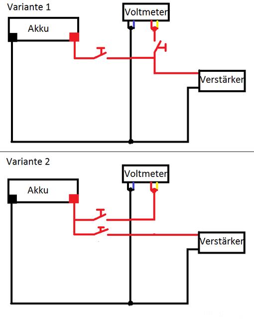 Fein Auto Voltmeter Schaltplan Zeitgenössisch - Der Schaltplan ...