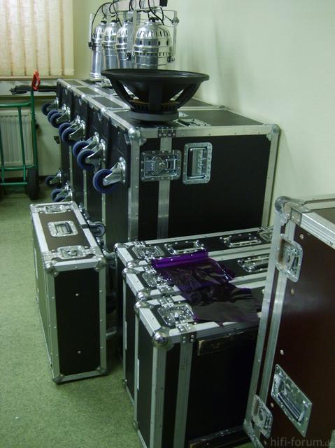Akustik Art Kiel, PA-anlage II
