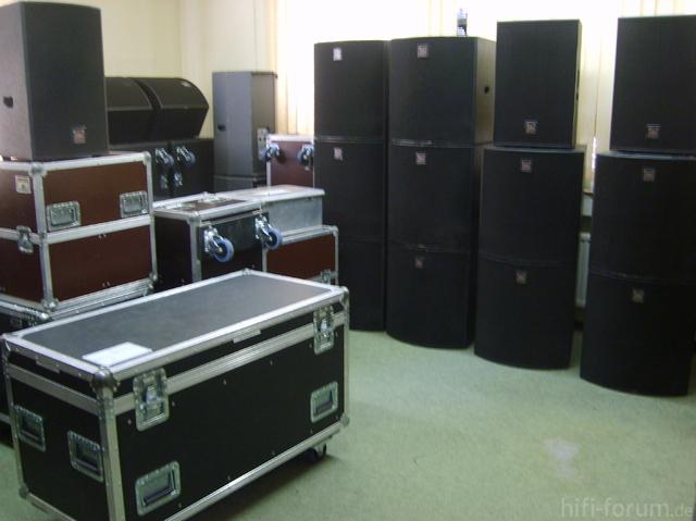 Akustik Art Kiel, PA-Anlage