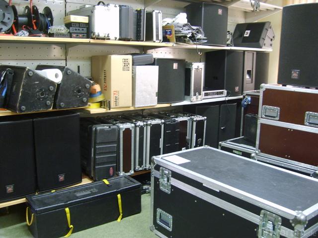 Akustik Art Kiel, PA-Raum III
