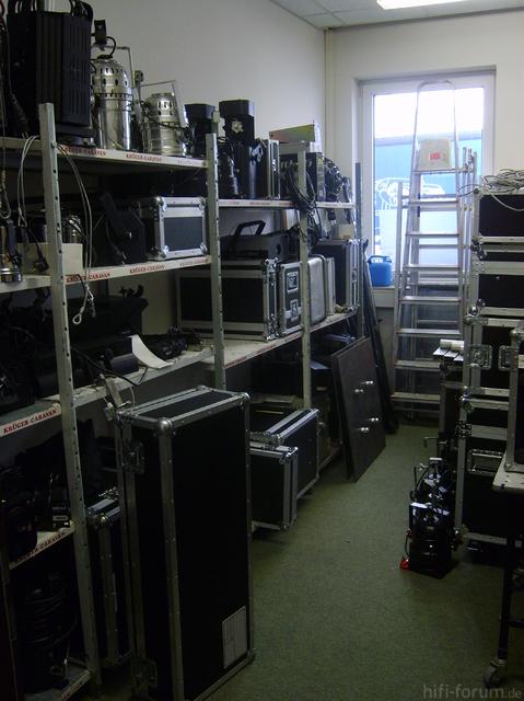Akustik Art Kiel, PA-Raum IV