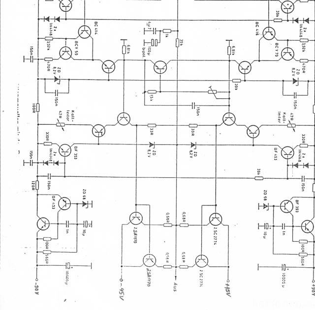 Schaltplan für Audio Connection Quintestenz, Elektronik - HIFI-FORUM